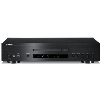 Yamaha CD-S700 CD player silent loading with front-panel USB Port