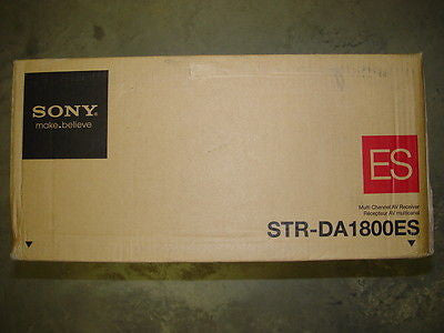 Sony STR-DA1800ES 7.2 Channel 100 Watt Receiver {Brand New}