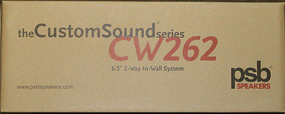 PSB CW262 CUSTOM IN-WALL SPEAKERS {Pair}