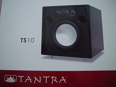 Speakercraft Tantra TS-10 Powered Subwoofer {BRAND NEW} TS10 250watts! w/remote