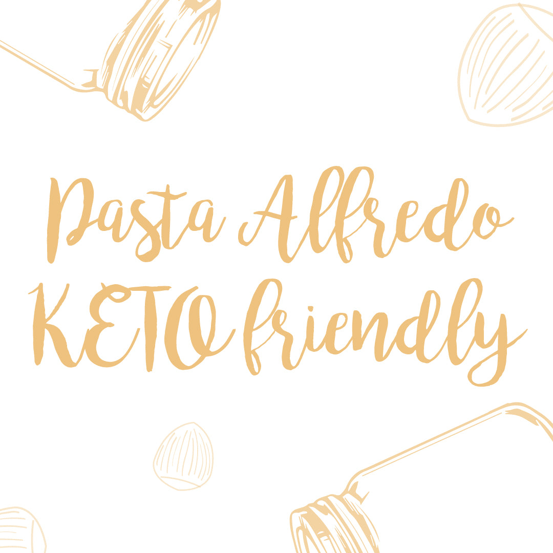 Pasta Alfredo Keto-Friendly
