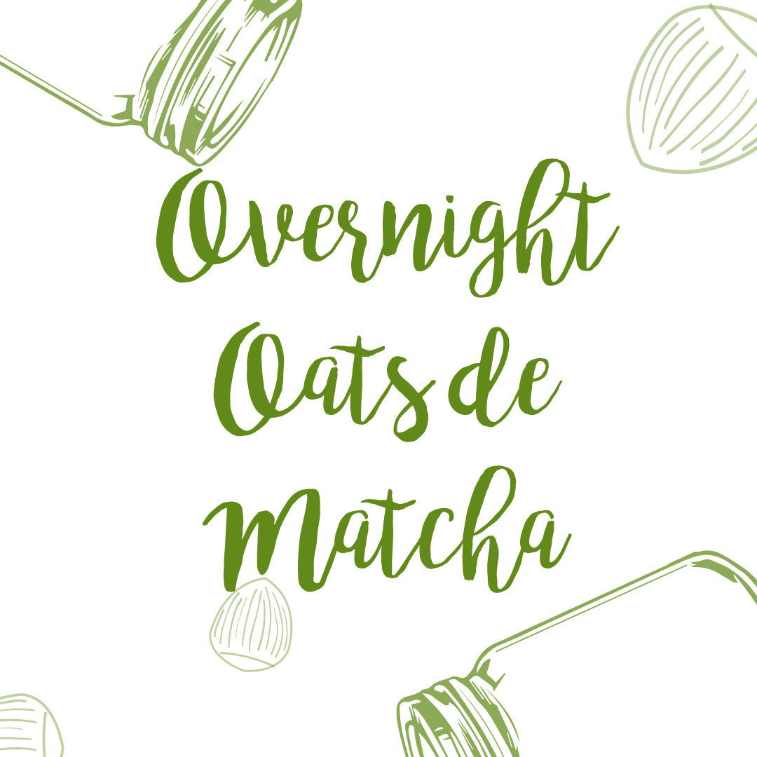 Overnight Oats de Matcha