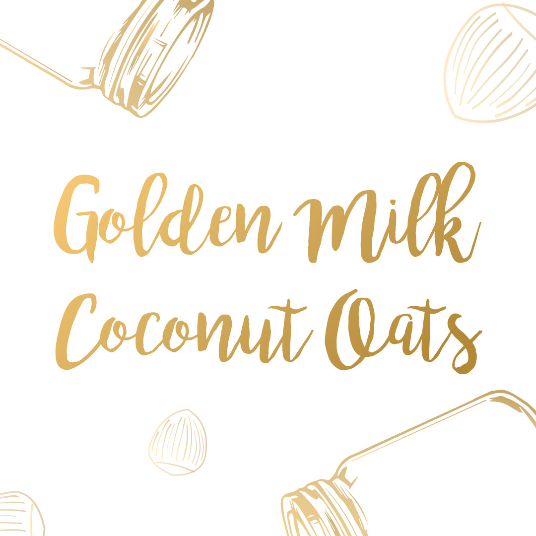 GOLDEN MILK COCONUT OATS