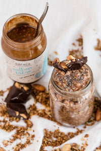 Crema de avellana cacao crunchy - Sarai's Superfood Spreads