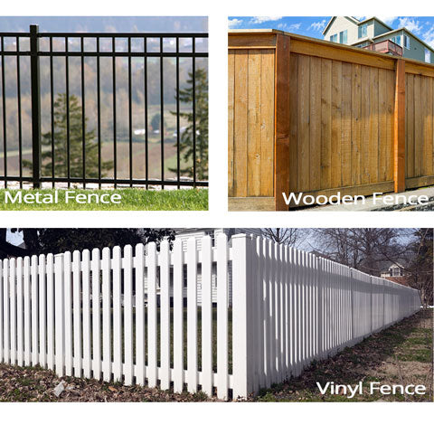 9 ideas for a dog friendly backyard fence examples
