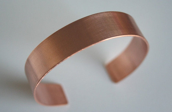 Simple Small Copper Cuff, Natural Copper, Copper Bracelet, Thin Metal Cuff, Copper Jewelry, Handmade Cuff, Small Cuff Bracelet