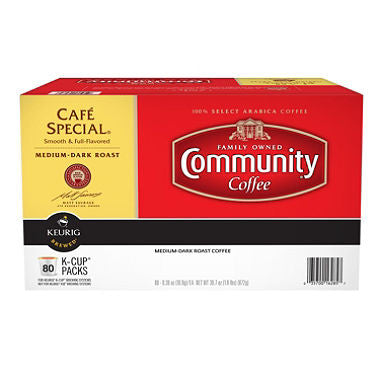 Community Coffee Café Special K-Cup Pods (80 ct.)