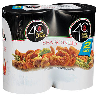 4C Seasoned Bread Crumbs - 2/46 oz.