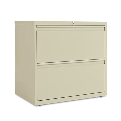 "Alera 30"" 2-Drawer Lateral File Cabinet, Putty"