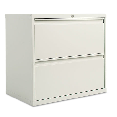 "Alera 30"" 2-Drawer Lateral File Cabinet, Light Gray"