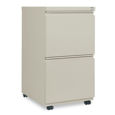 Alera 2-Drawer Metal Pedestal File,Putty