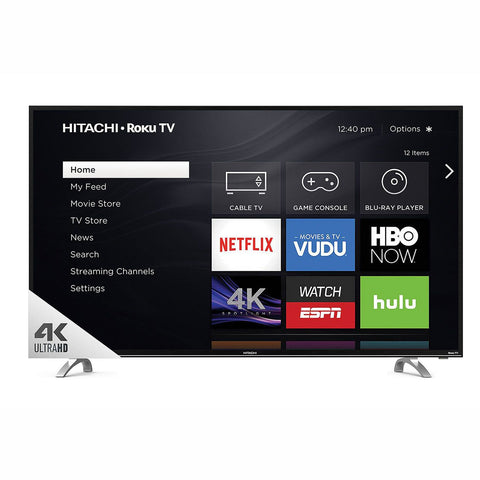 "Hitachi 49"" Class 4k UHD TV with Roku - 49R80"