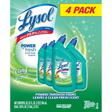 Lysol Professional Toilet Bowl Cleaner - Country Scent - 32 oz. - 4 pk.