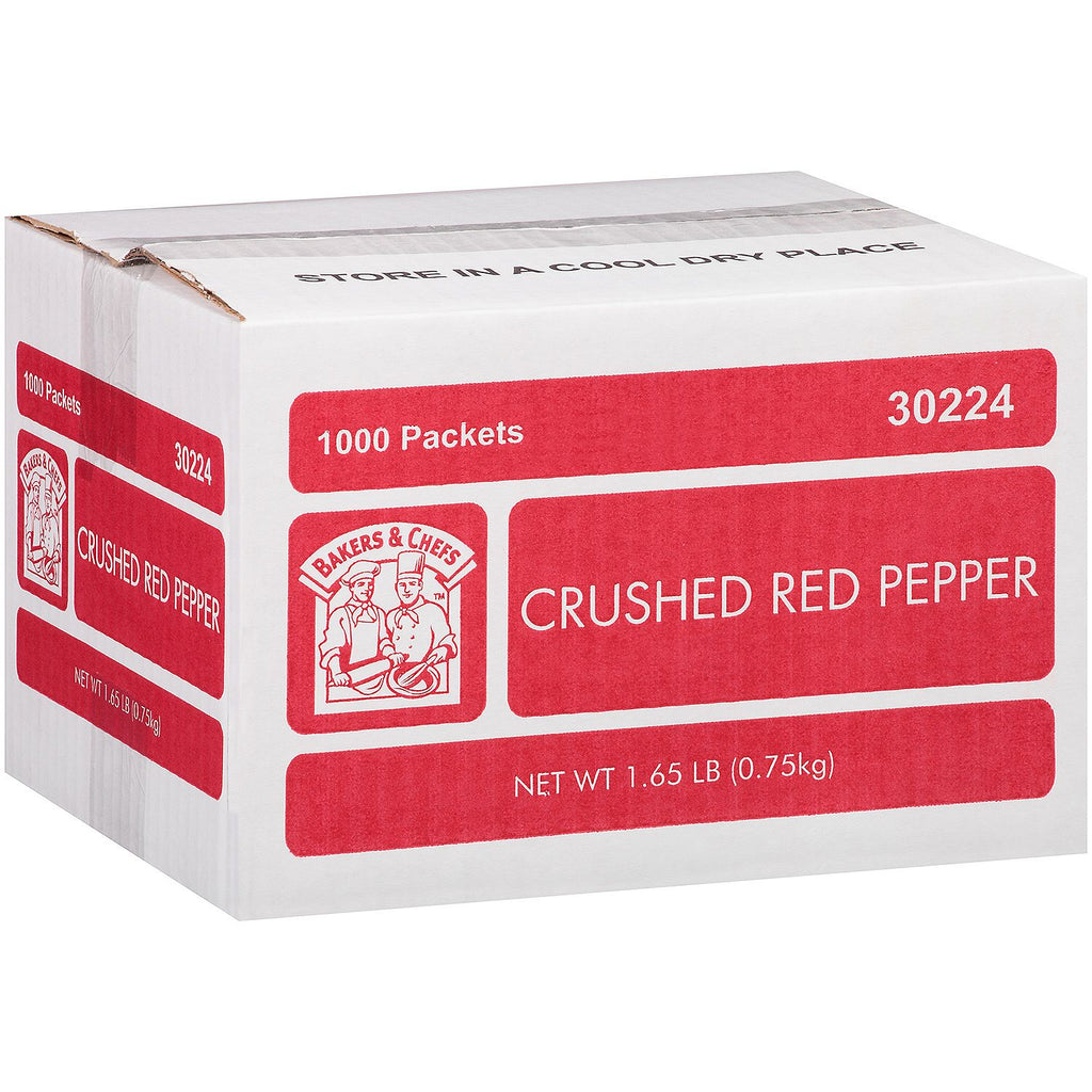 Bakers & Chefs Crushed Red Pepper - 1.65 lb.