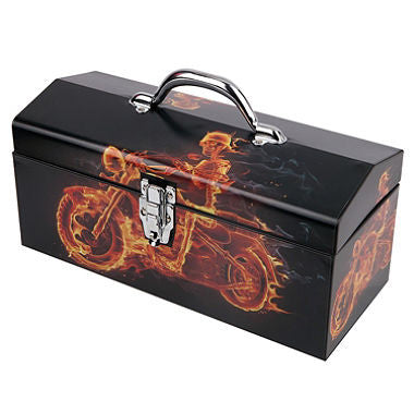 "Ghost Rider Motorcycle 16"" Toolbox"