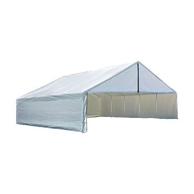 30 x 30 ft. Canopy with Enclosure Kit - White