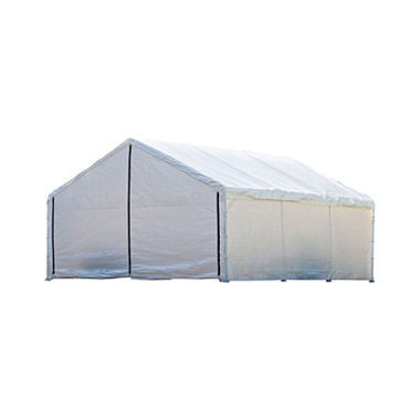 18 x 20 ft. Canopy with Enclosure Kit - White