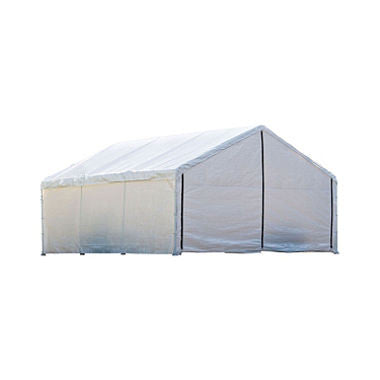 18 x 40 Canopy with Enclosure Kit - White