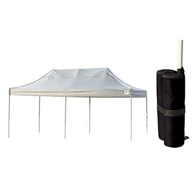 10 x 20 ft. Canopy with Anchor Kit - White