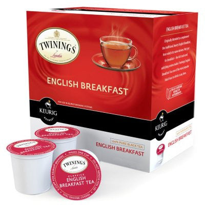 Twinings of London Tea, English Breakfast (48 K-Cups)