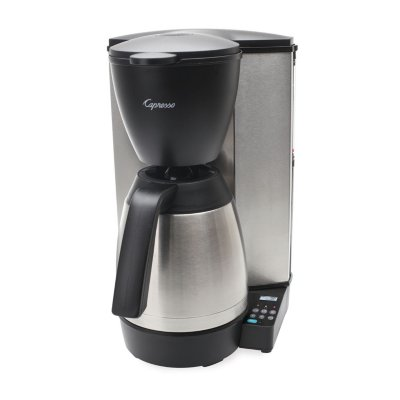 10-Cup Programmable Coffee Maker with Thermal Carafe, MT600 Plus