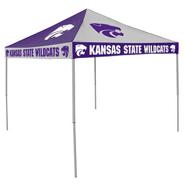 9x9 NCAA KS State Checkerboard Canopy