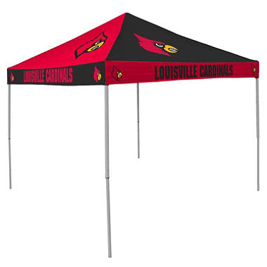 9x9 NCAA Louisville Checkerboard Canopy
