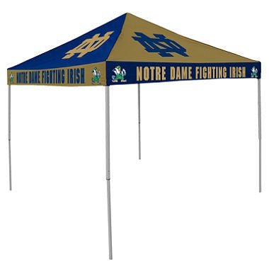 9x9 NCAA Notre Dame Checkerboard Canopy