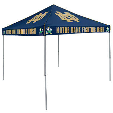 9x9 NCAA Notre Dame Navy Canopy