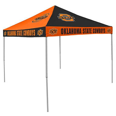 9x9 NCAA OK State Checkerboard Canopy