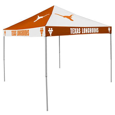 9x9 NCAA Texas Checkerboard Canopy