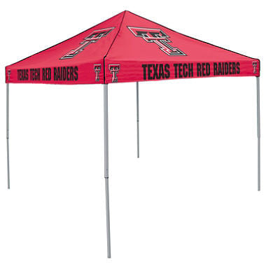 9x9 NCAA TX Tech red Canopy