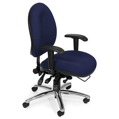 24-Hour Big & Tall Chair - Blue
