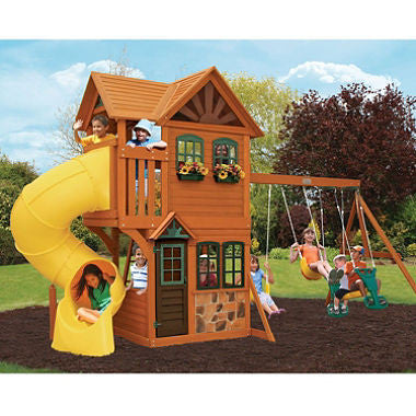 Boulder Station Cedar Summit Play Set