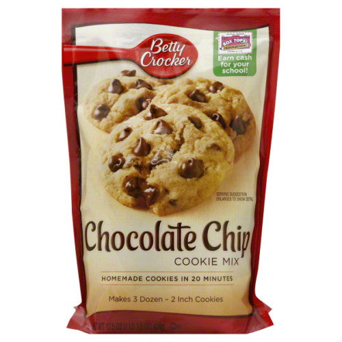 Betty Crocker Cookie Mix, Chocolate Chip 17.5 oz.