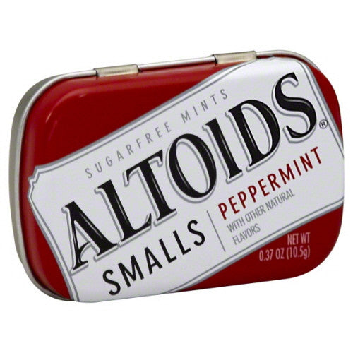 Altoids Smalls Mints, Sugarfree, Peppermint .37 oz.