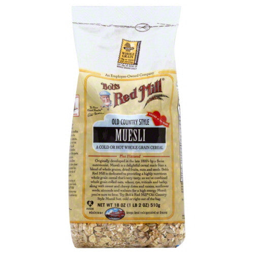 Bobs Red Mill Muesli, Old Country Style 18 oz.