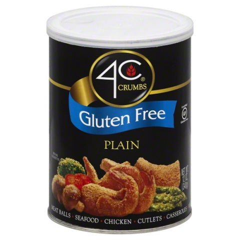 4C Crumbs, Gluten Free, Plain 12 oz.