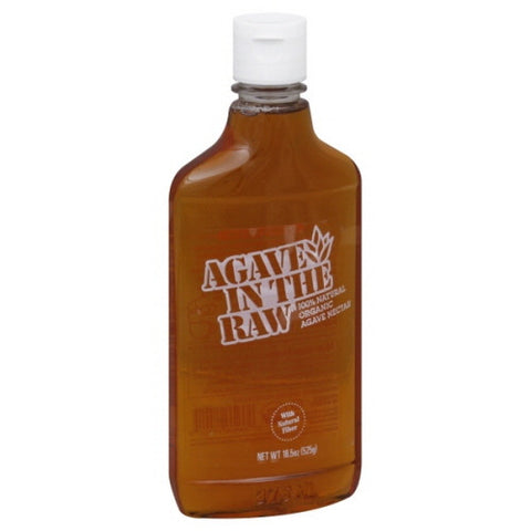 Agave In The Raw Agave Nectar, Organic 18.5 oz.