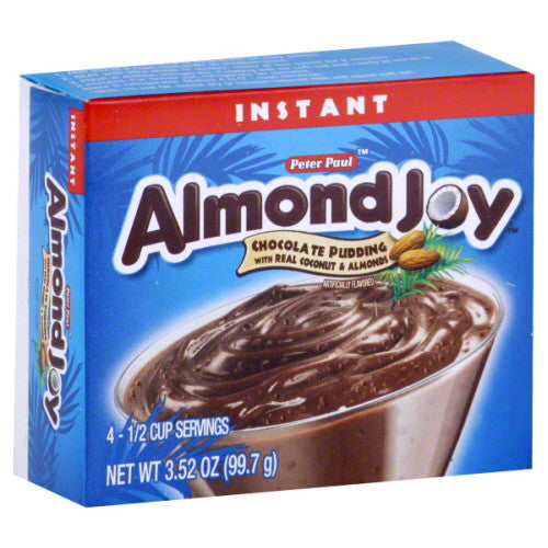 Almond Joy Instant Pudding, Chocolate, Instant 3.52 oz.