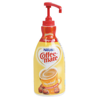 Nestle Coffee-mate Hazelnut Liquid Creamer 1.5L Pump Bottle