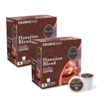 Tully's�� Hawaiian Blend Coffee 180 K-Cup�� Pods