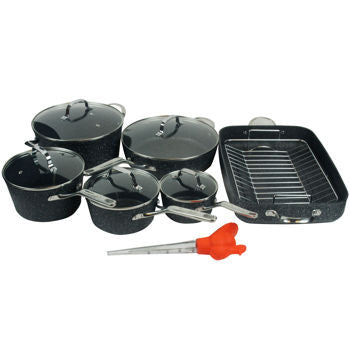 The ROCK by Starfrit 13-piece Cookware Set