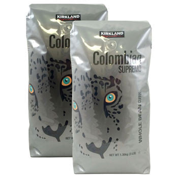 Kirkland Signature��� Colombian Supremo Whole Bean 3 lb. Bag 2-pack