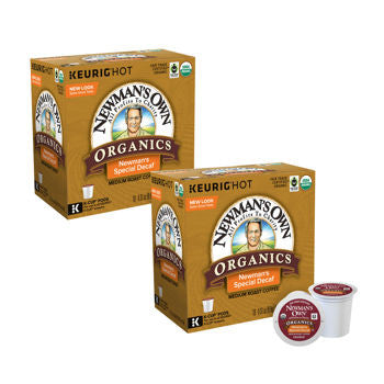 Newman's Own Organics Decaf Special Blend Coffee 180 K-Cup Pods