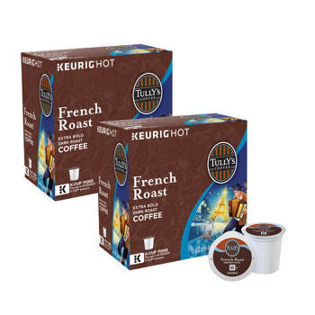 Tully's Decaf French Roast Coffee 180 K-Cup Pods