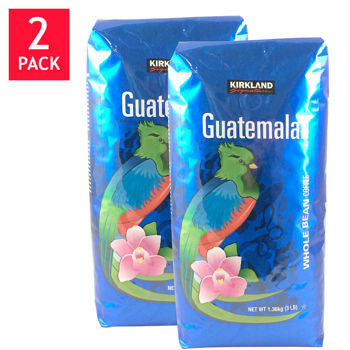 Kirkland Signature��� Guatemalan Lake Atitlan Whole Bean Coffee 3 lb. Bag 2-pack