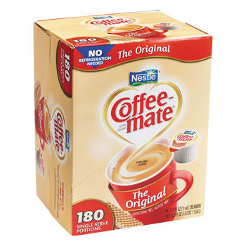 Nestle Coffee-mate Original Liquid Creamer Singles 180ct
