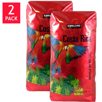 Kirkland Signature��� Costa Rica Whole Bean Coffee 3 lb. Bag 2-pack