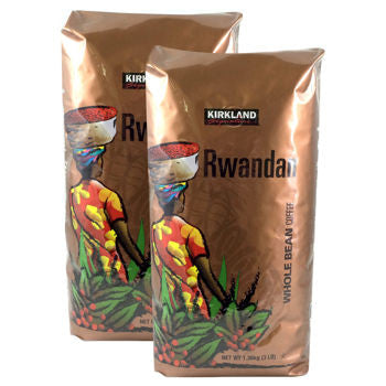 Kirkland Signature��� Rwandan Whole Bean Coffee 3 lb. Bag 2-pack